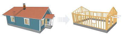 hand build architectural wood framework model house archiframe img2 jpg