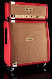 Custom Head Cabinet Marshall Custom Shop Jcm800 Head And 1960av Cabinet Racing Red