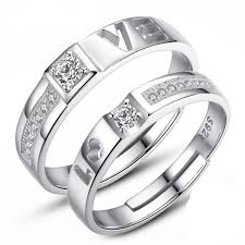 couples rings images Love you quot diamond couples ring euphorium jewelry jpg