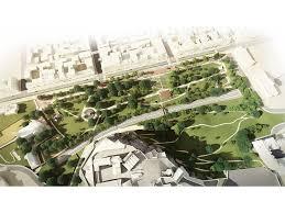Park West Landscape by Adjaye Big Sou Fujimoto And 4 Other Teams Reveal Proposals For