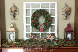 Christmas Decorations For Fireplace Mantel Christmas Mantel Decorating Ideas Marty U0027s Musings