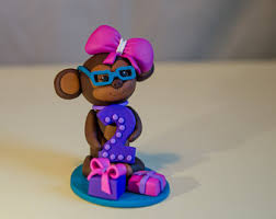 monkey cake topper monkey cake decorations edible monkey cake topper monkey