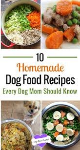 to get inspired here are 10 easy and nutritious dog food recipes