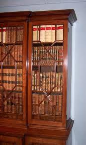 Break Front Bookcase Breakfront Bookcases