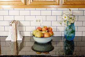 Orange Kitchen Tiles - 18 ways colorful grout spices up boring white tile