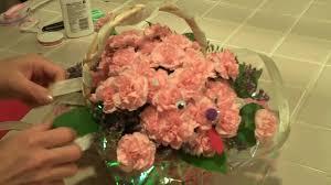 dog flower arrangement tomoko s kitchen dog flower arrangement mp4