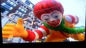 ronald mcdonald in the 2013 macy s thanksgiving day parade