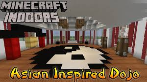 Minecraft Indoors Interior Design Asian Inspired Youtube