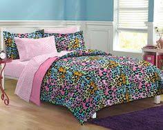 Bed Comforter Sets For Teenage Girls by Bedding Sets For Girls Print Livin Large Leopard Comforter Sham