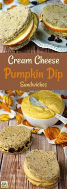 cheese pumpkin dip sandwiches