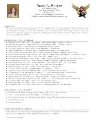 Trainer Resume Example Dance Instructor Resume Sample Resume For Your Job Application