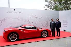 ferrari 488 gtb ferrari 488 gtb official india launch team bhp
