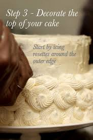 diy wedding cake decorating one stylish bride u2013 ultimate wedding