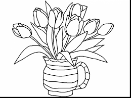 outstanding printable coloring pages girls flowers with flower