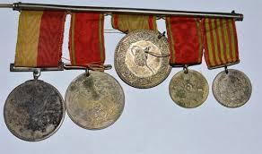 Ottoman Medals Ottoman Empire Of 5 Medals Silver Imtiaz Imtiyaz Medal Of