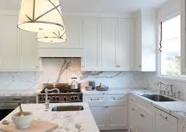 beautiful kitchen marble countertops and backsplash stylish