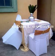 Cheap Chair Cover Rentals Decoration Rentals At Affordable Price Yaba Events Nigeria