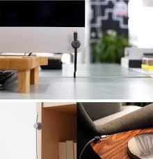 Cable Organizer Desk by T U0027up2 Wooden Multipurpose Usb Cable Organizer Desktop Cord Management