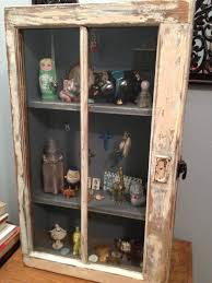 shadow box with shelves and glass door old window shadow box my furniture and projects pinterest