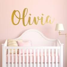 Custom Wall Decals For Nursery Nursery Wall Decal Personalized Names Wall Decals For Madelyn