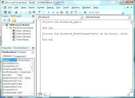 tutorial excel basic learn excel basics learn excel basics visual basic editor with event