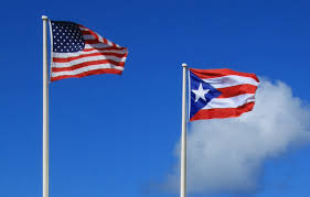 Puerto Rico Flag File Flags Of Puerto Rico And Usa Jpg Wikimedia Commons