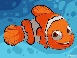 draw nemo finding nemo 12 steps pictures