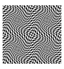 op art illusion optique houndstooth op art coloring pages