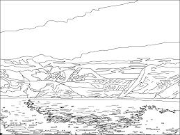 large glacier lemaire channel antarctica