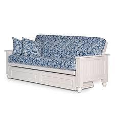 Futon Bed With Mattress Futon Sofa Bed With Storage Amazon Com