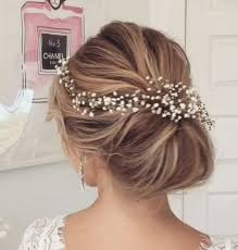 bridal hair bun wedding upstyle side bun wedding hair