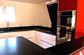 plan de travail cuisine noir paillet plan de travail cuisine noir paillete carrelage de cuisine
