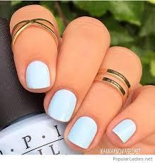 opi nail polish color on light blue