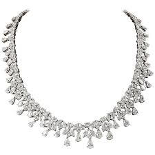 diamonds necklace photos images Classic 26 carat diamond necklace for sale at 1stdibs jpg