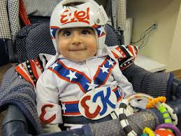 Beautiful Halloween Costumes Evel Knievel Baby Costume Parents Worked Helmet Wears
