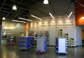 fort worth lighting warehouse american light showroom ft worth texas interior finish out project