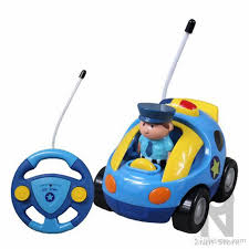 remote control police car with lights and siren zorn store cartoon r c police car radio control toy with light and