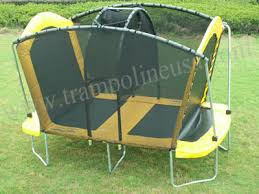 trampoline game with double bed and net