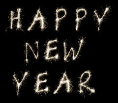 photo of happy new year sparklers free christmas images
