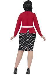 curves 50 u0027s pin up costume 24455 fancy dress ball