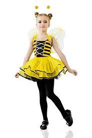 Bee Halloween Costume Kids Girls Honey Queen Bee Halloween Costume Bumblebee Wasp Dress
