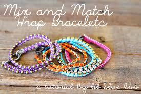 make wrap bracelet images Diy mix and match wrap bracelets a tutorial jpg