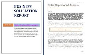 company report template download business annual report brochure