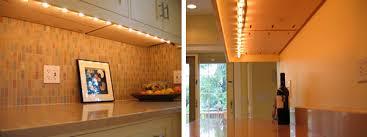 kitchen strip lights under cabinet under cabinet lighting strips home design and pictures