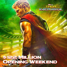 thor ragnarok dropped the hammer on the screenvision media