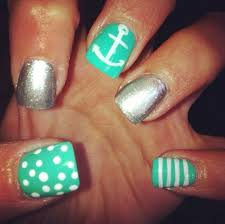 nail anchor design how you can do it at home pictures designs