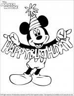 mickey mouse coloring pages coloring library