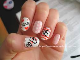 peachbubbly kpop nails exo inspired valentine u0027s day nail art