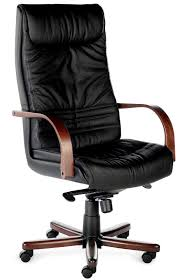 fauteuil de bureau haut de gamme fauteuil de direction cuir et bois luxe gallion achat