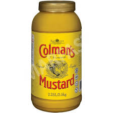 coleman s mustard colman s mustard 2 5kg tub wholesale supplier carry